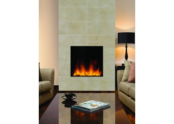 Square Electric Inset Fire Range