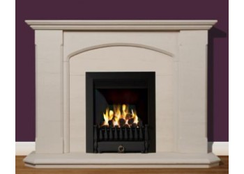 Staffordshire Natural Portuguese Limestone Fireplace