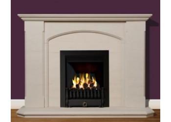 Staffordshire Natural Portuguese Limestone Fireplace