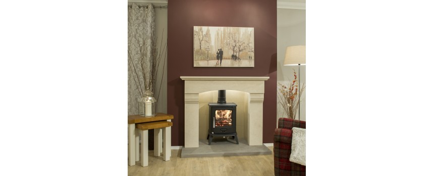 Brigadier Natural Stone Fireplace