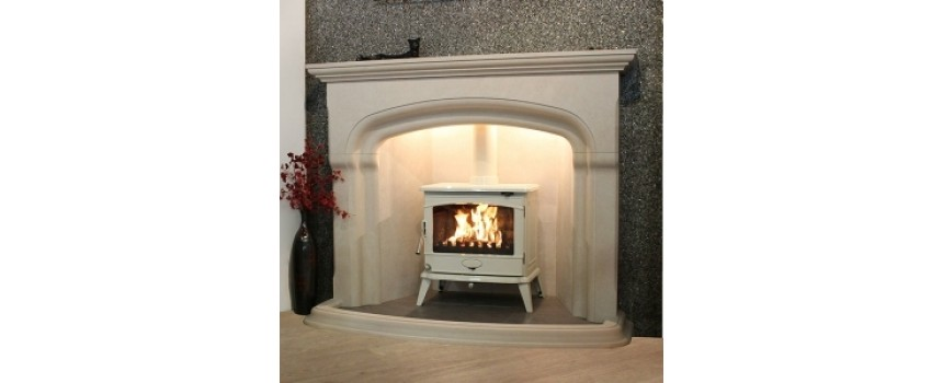 Carterton Natural Stone Fireplace
