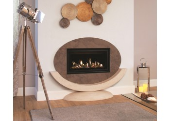 Small Cityscape Balanced Flue Gas Fire