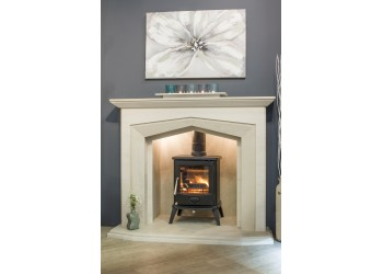 Zarge Natural Stone Fireplace