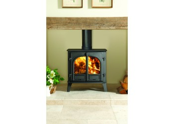 Stovax Stockton 5 Wide Wood Burning Stove 5kW