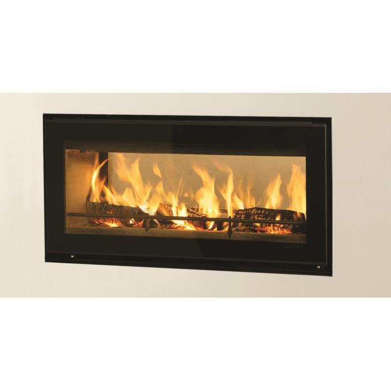 Slice 5000 Inset Wood Burning Stove Double Sided
