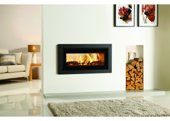 Slice Inset Wood Burning Stove (Double Sided)