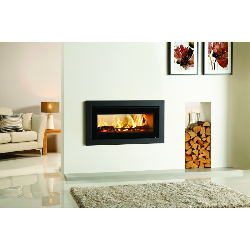 Completely new Slice Inset Wood Burning Stove (Double Sided) IY82