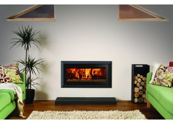Slice Wedge Wood burning Inset Stove
