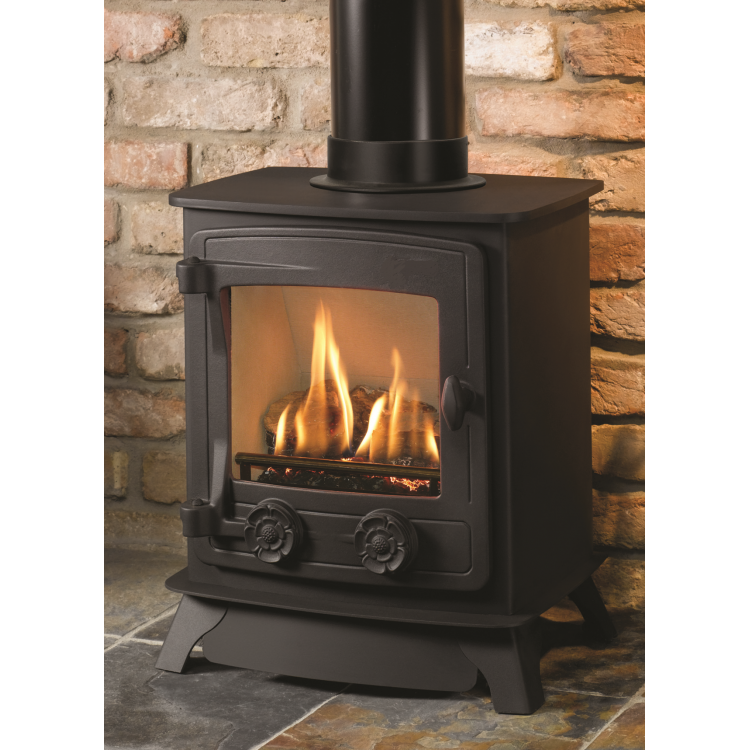 Compact gas stove - Small space wood stove model ...