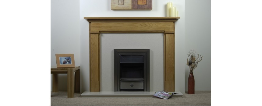 Abigail Real Wood Fireplace