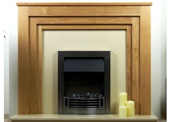 Hannah Natural Oak Fireplace