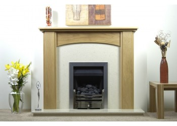 Tara Natural Oak Fireplace