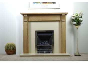 Victoria Real Wood Fireplace