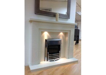 Milan Marble Fireplace