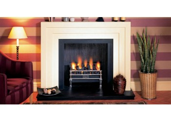 Art Deco Wood Mantel