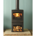 Club 5 Multifuel Stove with log store