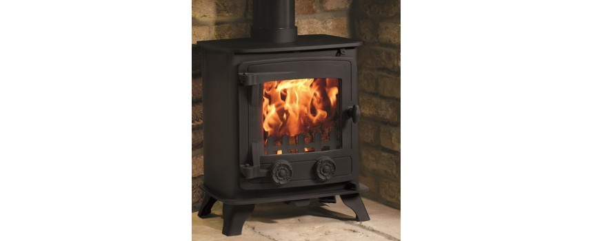 Compact 5kw Multi-fuel Stove