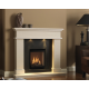 Bellamy Natural Portuguese Limestone Fireplace