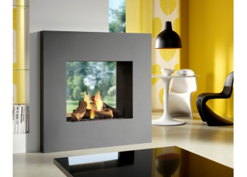 Square View Gas Fire