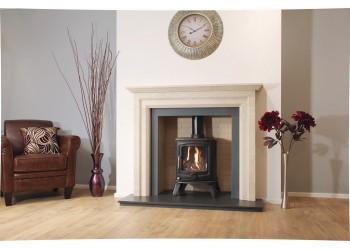 Leverton Natural Stone Fireplace