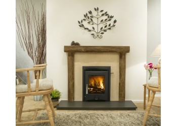 Henge Beam Fireplace